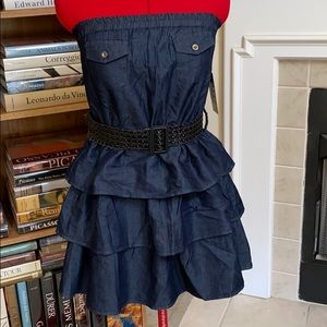 New strapless dress